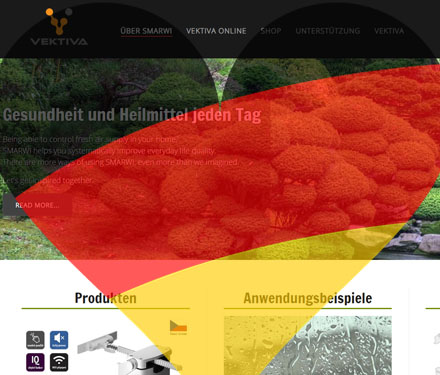 German version of vektiva.com